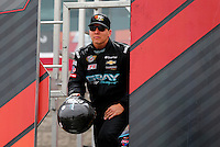 Mar 29, 2014; Las Vegas, NV, USA; NHRA Pro Stock driver Dave Connolly during qualifying for the Summitracing.com Nationals at The Strip at Las Vegas Motor Speedway. Mandatory Credit: Mark J. Rebilas-