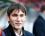 Nederland, Nijmegen, 2 december 2012.Eredivisie .Seizoen 2012-2013.N.E.C.-NAC Breda.Nebojsa Gudelj, trainer-coach van NAC Breda.