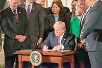 JUN 05 Trump signs transportatio infrastructure Executive order