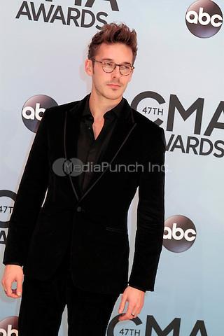 NASHVILLE, TENNESSEE - NOVEMBER 6: Sam Palladio at The 2013 Country Music Association Awards in Nashville, Tennessee on November 6, 2013. Photo Credit: RTNShrader / MediaPunch Inc.