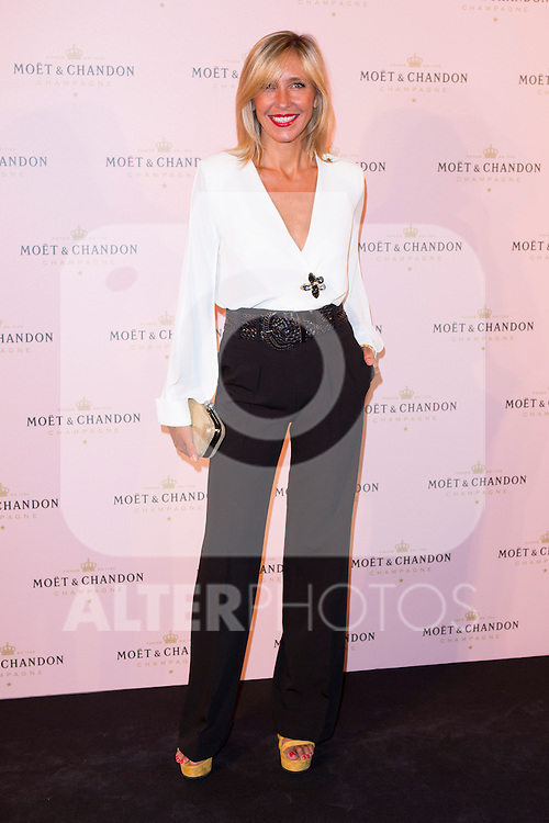 "Marta Robles attends the ""Moon Night Party"" of Moët & Chandon at Casino in Madrid, Spain. September 17, 2014. (ALTERPHOTOS/Carlos Dafonte)"