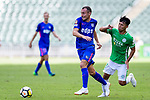 Daniel Cancela of Kitchee SC (L) in action against Lee Ka Yiu of Wofoo Tai Po (R) during the Hong Kong FA Cup final between Kitchee and Wofoo Tai Po at the Hong Kong Stadium on May 26, 2018 in Hong Kong, Hong Kong. Photo by Marcio Rodrigo Machado / Power Sport Images