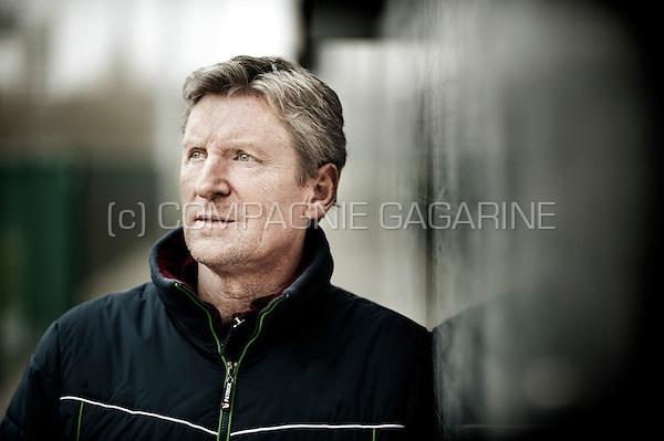 Belgian football manager Francky Dury (Belgium, 15/12/2015)