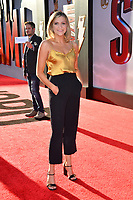 LOS ANGELES, CA. March 28, 2019: Monica Church at the world premiere of Shazam! at the TCL Chinese Theatre.<br /> Picture: Paul Smith/Featureflash