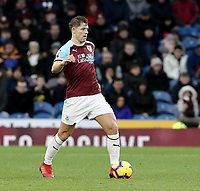 Burnley's James Tarkowski<br /> <br /> Photographer Rich Linley/CameraSport<br /> <br /> The Premier League - Burnley v Brighton and Hove Albion - Saturday 8th December 2018 - Turf Moor - Burnley<br /> <br /> World Copyright © 2018 CameraSport. All rights reserved. 43 Linden Ave. Countesthorpe. Leicester. England. LE8 5PG - Tel: +44 (0) 116 277 4147 - admin@camerasport.com - www.camerasport.com