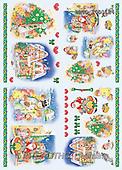 Alfredo, CHRISTMAS SANTA, SNOWMAN, decoupage, paintings(BRTOTOD1124,#X#,#DP#) Weihnachten, Navidad, illustrations, pinturas