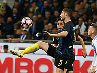 Roberto Gagliardini  during the  italian serie a soccer match,between Inter FC  and SSC Napoli      at  the San Siro   stadium in Milan  Italy , April  30, 2017