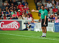 Swindon Town Manager Phil Brown shouts instructions to his team from the technical area<br /> <br /> Photographer Andrew Vaughan/CameraSport<br /> <br /> The EFL Sky Bet League Two - Lincoln City v Swindon Town - Saturday August 11th 2018 - Sincil Bank - Lincoln<br /> <br /> World Copyright &copy; 2018 CameraSport. All rights reserved. 43 Linden Ave. Countesthorpe. Leicester. England. LE8 5PG - Tel: +44 (0) 116 277 4147 - admin@camerasport.com - www.camerasport.com