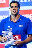 5 FOUNTOULIS Ioannis GRE Top Scorer <br /> Barcelona 28/07/2018 Piscines Bernat Picornell <br /> Men Medal Ceremony <br /> 33rd LEN European Water Polo Championships - Barcelona 2018 <br /> Photo Andrea Staccioli/Deepbluemedia/Insidefoto