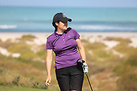 Becky Brewerton (WAL) during the second round of the Fatima Bint Mubarak Ladies Open played at Saadiyat Beach Golf Club, Abu Dhabi, UAE. 11/01/2019<br /> Picture: Golffile | Phil Inglis<br /> <br /> All photo usage must carry mandatory copyright credit (© Golffile | Phil Inglis)