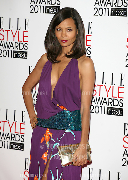 Thandie Newton arriving for the Elle Style Awards 2011, at the Connaught Rooms, London. 15/02/2011  Picture by: Alexandra Glen / Featureflash