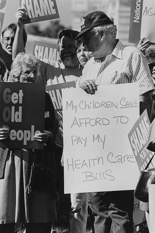 Medicare Rally in October 1995. (Photo by Gigi Goshko/CQ Roll Call via Getty Images)