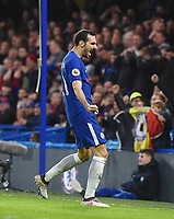 Davide Zappacosta of Chelsea celebrates a goal<br /> Londra 10-03-2018 Premier League <br /> Chelsea - Crystal Palace<br /> Foto PHC Images / Panoramic / Insidefoto <br /> ITALY ONLY