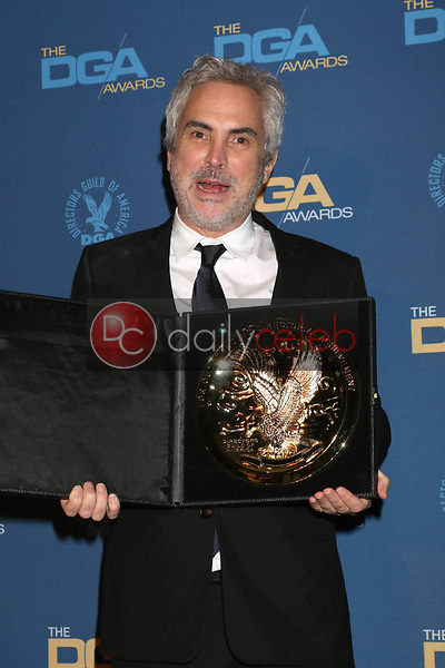 Alfonso Cuaron<br /> at the 71st Annual Directors Guild Of America Awards Press Room, Dolby Ballroom, Hollywood, CA 02-02-19<br /> David Edwards/DailyCeleb.com 818-249-4998