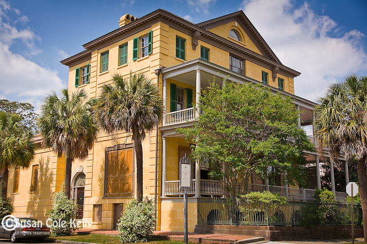 The Aiken-Rhett house in Charleston, SC, USA