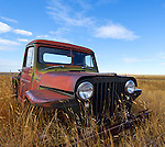 Abandoned Antique Truck, North Central Montana