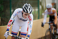World Cup leader Sanne Cant (BEL)<br /> <br /> Zolder CX UCI World Cup 2014