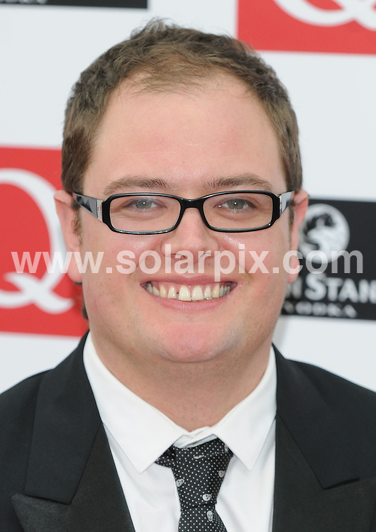 **ALL ROUND PICTURES FROM SOLARPIX.COM**.**WORLDWIDE SYNDICATION RIGHTS**.Guests from the music industry arrive for the Q magazine Awards. Held at the Grosvenor, London, UK. 6th October 2008...This pic: Alan Carr..JOB REF: 7534 SSD     DATE: 06_10_2008.**MUST CREDIT SOLARPIX.COM OR DOUBLE FEE WILL BE CHARGED* *UNDER NO CIRCUMSTANCES IS THIS IMAGE TO BE REPRODUCED FOR ANY ONLINE EDITION WITHOUT PRIOR PERMISSION*