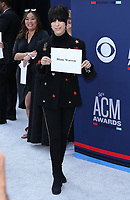07 April 2019 - Las Vegas, NV - Diane Warren. 54th Annual ACM Awards Arrivals at MGM Grand Garden Arena. Photo Credit: MJT/AdMedia<br /> CAP/ADM/MJT<br /> &copy; MJT/ADM/Capital Pictures