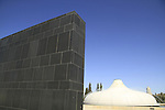 Israel, Jerusalem, the Shrine of the Book at the Israel Museum, focuses on the Dead Sea Scrolls