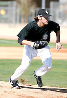 Aaron Poreda -  Chicago White Sox - 2009 spring training.Photo by:  Bill Mitchell/Four Seam Images