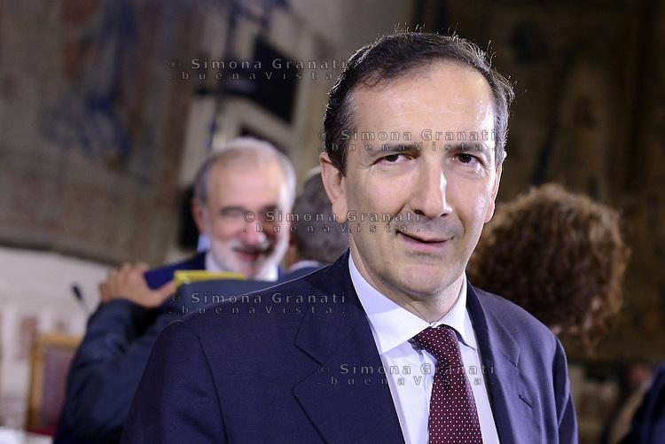 Roma, 2 Luglio 2015<br /> Presentata la relazione annuale dell'Autorit&agrave; nazionale anticorruzione al Parlamento.<br /> Nella foto Luigi Gubitosi, Direttore generale RAI