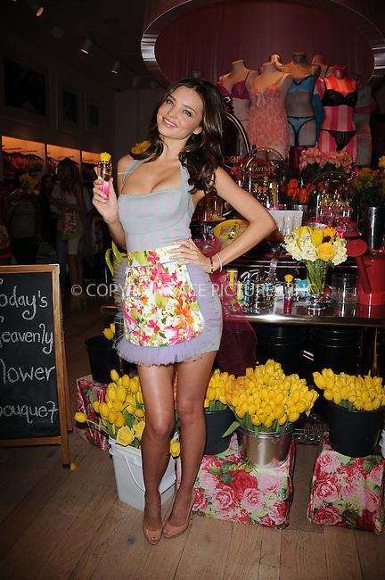 WWW.ACEPIXS.COM . . . . . ....April 24 2010, New York City....Victoria's Secret Angel Miranda Kerr at the Victoria's Secret Beauty Heavenly Flowers launch at Victoria's Secret Soho on April 24, 2010 in New York City.....Please byline: KRISTIN CALLAHAN - ACEPIXS.COM.. . . . . . ..Ace Pictures, Inc:  ..(212) 243-8787 or (646) 679 0430..e-mail: picturedesk@acepixs.com..web: http://www.acepixs.com