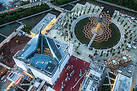 Aerial views Milano Expo 2015.