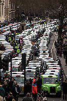 10.02.2016 - London Black Cabs Strike