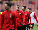 Paul Coutts of Sheffield Utd as captain during the Emirates FA Cup Round One match at Bramall Lane Stadium, Sheffield. Picture date: November 6th, 2016. Pic Simon Bellis/Sportimage