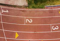 Vista aerea de Complejo deportivo de la Comisión Estatal de Deporte, CODESON en Hermosillo, Sonora....<br /> <br /> Pista de Atletismo. 1, 2, 3, Primero, Segundo, Tercero, Lugar, Lugares, Orden.<br /> <br /> Photo: (NortePhoto / LuisGutierrez)<br /> <br /> ...<br /> keywords: