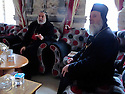 Iraq 2014                <br /> In the monastery of Mar Matta with Bishop Moses Aziz Al Shamany <br /> Irak 2014 <br /> L'eveque Moses Aziz Al Shamany recevant des visiteurs au monastere de Mar Matta ( St. Matthieu )