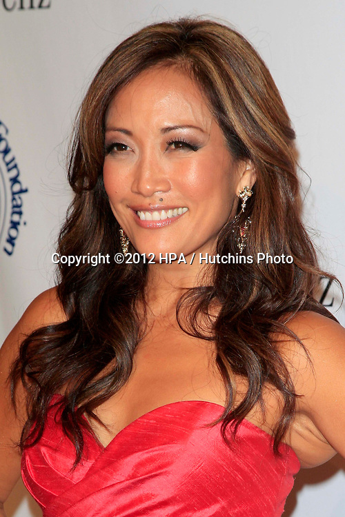 LOS ANGELES - OCT 20:  Carrie Ann Inaba arrives at  the 26th Carousel Of Hope Ball at Beverly Hilton Hotel on October 20, 2012 in Beverly Hills, CA