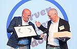 AMERSFOORT - Michel de Meijer (Jurassic Golf) . ontvangt Award.  Nationaal Golf Congres & Beurs (Het Juiste Spoor) van de NVG.     © Koen Suyk.