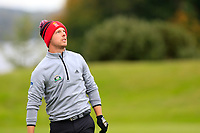 Juian Kunzenbacher (GER) during the final round of the Monaghan Irish Challenge, Concra Wood, Monaghan, Ireland. 7-10-2018.<br /> Picture Fran Caffrey / Golffile.ie<br /> <br /> All photo usage must carry mandatory copyright credit (© Golffile | Fran Caffrey)
