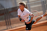 Germany's Marvin Moeller during Junior Davis Cup 2015 match. September  30, 2015.(ALTERPHOTOS/Acero)
