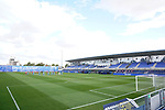 CF Fuenlabrada's team and CD Tenerife's team pay tribute to the victims of the Covid 19 pandemic during Second Division La Liga Smartbank match. June 12, 2020. (ALTERPHOTOS/Acero)