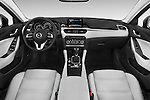 Stock photo of straight dashboard view of a 2016 Mazda 6 i Grand Touring Auto 4 Door Sedan