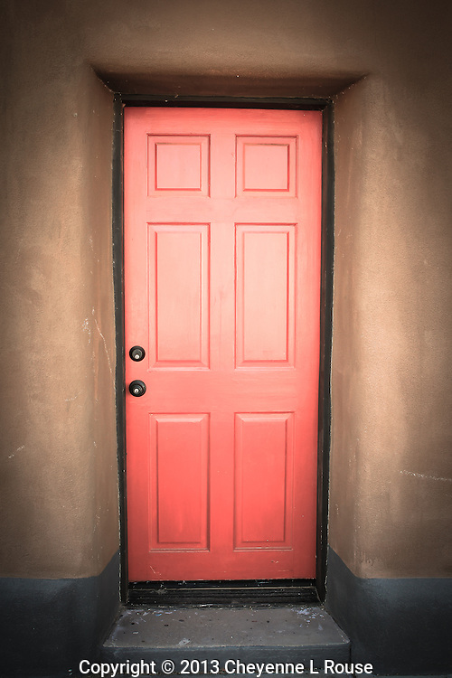 Red Door- Brown Adobe - Arizona
