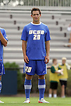 04 September 2011: UCSB's James Kiffe. The University of California Santa Barbara Broncos defeated the North Carolina State University Wolfpack 1-0 at Koskinen Stadium in Durham, North Carolina in an NCAA Division I Men's Soccer game.