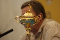 July 4th, 2006. Smurfit Kappa European Open 2006, Straffan, Kildare..Ian Woosnam talks about the Ryder Cup at the above..Photo: BARRY CRONIN/Newsfile..(Photo credit should read BARRY CRONIN/NEWSFILE).