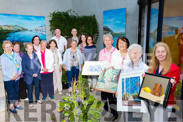 Tralee Art Group are launching a new Kerry Library exhibition based on literature which inspired them, officially opened by TD Brendan Griffin  on Tuesday 12th September 6.30pm Pictured front l-r Phil Daly, Tima O'Shea, Phil Hussey and Sandra Carney Back l-r Angels Kerins, Nora Diggin, Mary Cotter, Rose Daly, Geraldine Kissane, Judy Costelloe, Maire Ui Shearcoid, Paudie Lynch, Adrian Everson, Clem O'Keeffe , Jane Deasy
