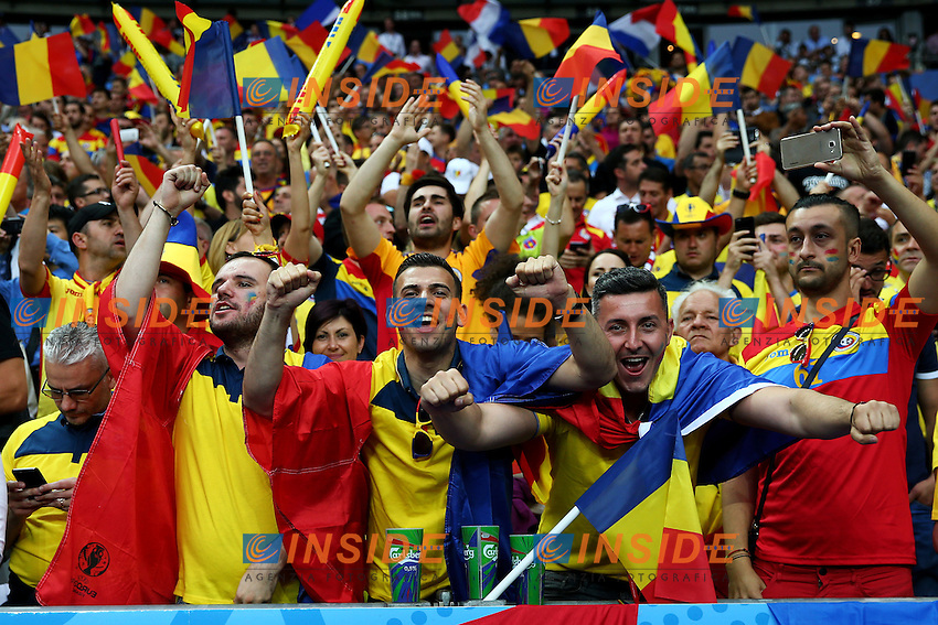 Tifosi Romania Supporters <br /> Paris 10-06-2016 Stade de France football Euro2016 France - Romania  / Francia - Romania Group Stage Group A. Foto Matteo Ciambelli / Insidefoto