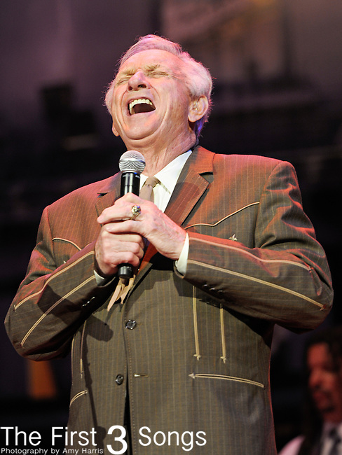 MEL TILLIS performs at the Ryman Auditorium for Tootsie's Orchid Lounge 50th Anniversary Celebration in Nashville, Tennessee on November 8, 2010.