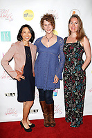 "LOS ANGELES - May 11: Debbie Fan, Shelly Gibson, Katherine Vondy at ""The Pussy Grabbers Play LA"" presented by the Cote d'Azur Web Fest at the Thymele Arts Center on May 11, 2019 in Los Angeles, CA"