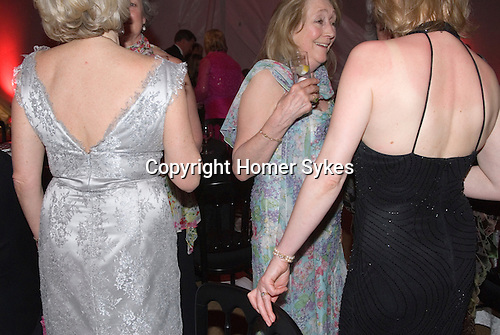 rich wealthy elderly people private party hampshire england UK 2008
