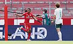 1:0 Tor, Jubel, Torschuetze Robin Quaison (Mainz)<br />Mainz, 20.06.2020, Fussball Bundesliga, 1. FSV Mainz 05 - SV Werder Bremen