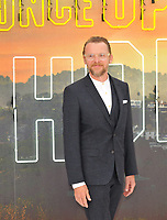 """LONDON, ENGLAND - JULY 30: Simon Pegg at the """"Once Upon A Time In ... Hollywood"""" UK film premiere, Odeon Luxe Leicester Square, Leicester Square, on Tuesday 30 July 2019 in London, England, UK.<br /> CAP/CAN<br /> ©CAN/Capital Pictures"""