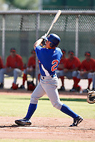 Matt Cerda - Chicago Cubs 2009 Instructional League .Photo by:  Bill Mitchell/Four Seam Images..