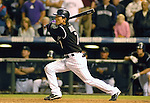 01 October  2007:  Colorado second baseman, Kazuo Matsui starts the 13th inning rally over the San Diego Padres to send the Rockies to the National League Division Playoffs at Coors Field, Denver, Colorado.